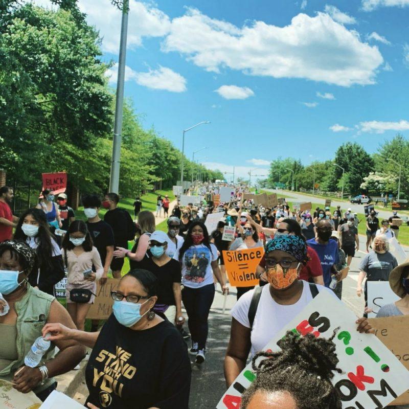 Black Lives Matter march - June 2020